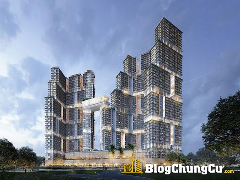 """Concept """"Lưỡng long triều nhật"""" tại Sun Marina Town"""