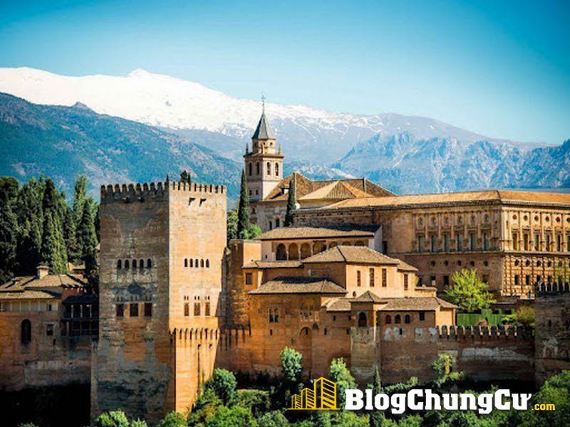 Cung điện Alhambra Tây Ban Nha