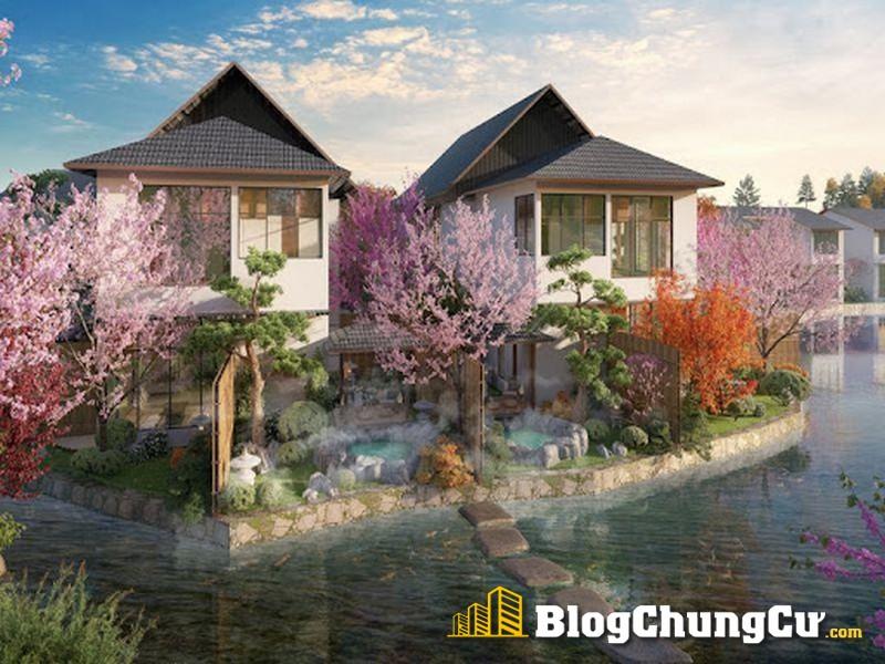 Hòa hợp với thiên nhiên là đặc trưng của biệt thự Sun Onsen Village Limited Edition