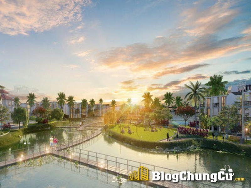 Phối cảnh hồ cảnh quan Sun Grand City Feria