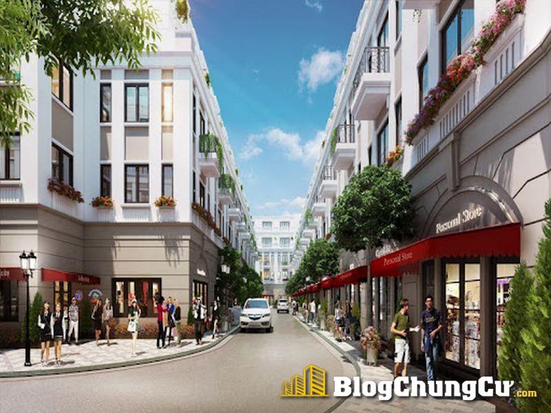 Phối cảnh shophouse The Empire Vinhomes Ocean Park 2 Hưng Yên