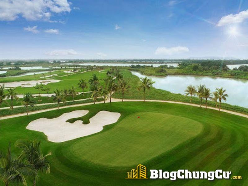 Sân golf tại phân khu nghỉ dưỡng dự án Đồi Rồng – Đồ Sơn