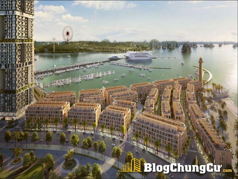 Sun Marina Plaza được lấy cảm hứng thiết kế từ những bến du thuyền xa hoa trên thế giới