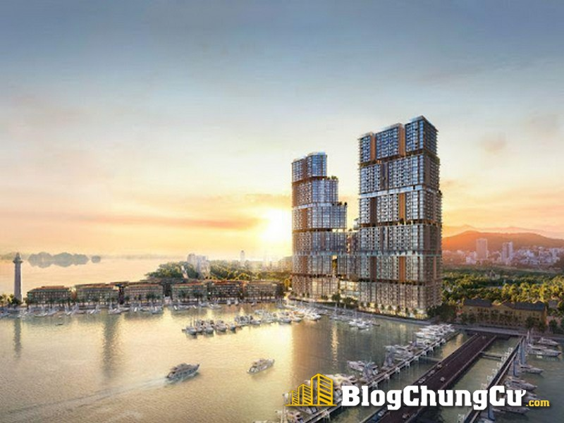 """Sun Marina Town lấy cảm hứng thiết kế từ hình tượng """"Lưỡng long triều nhật"""""""