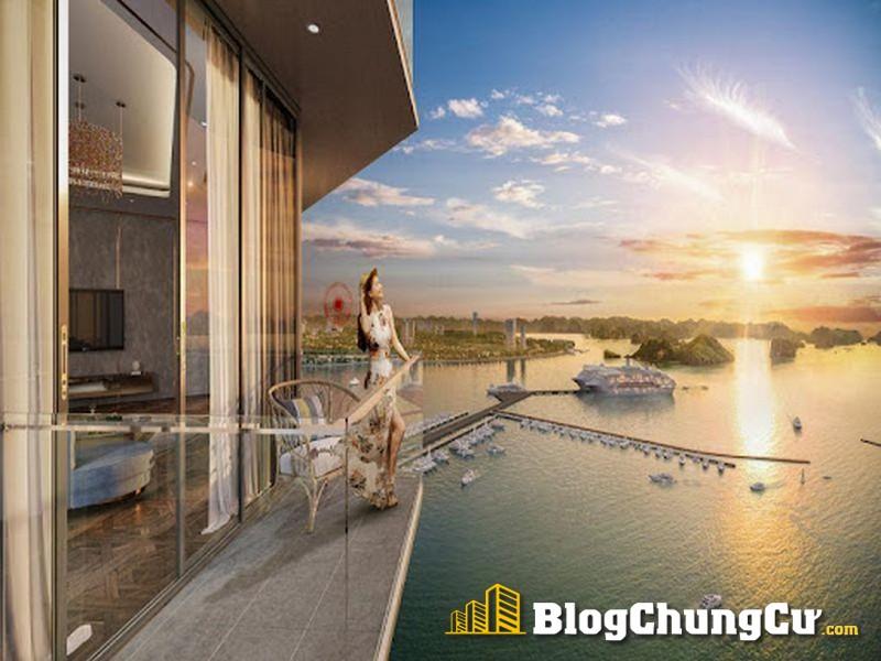 Tầm nhìn gần và sống động về bến du thuyền Sun Marina Hạ Long